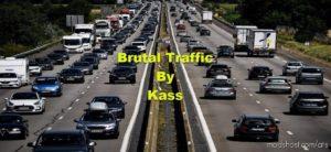 Brutal Traffic V1.1.1 (HOT FIX) for American Truck Simulator