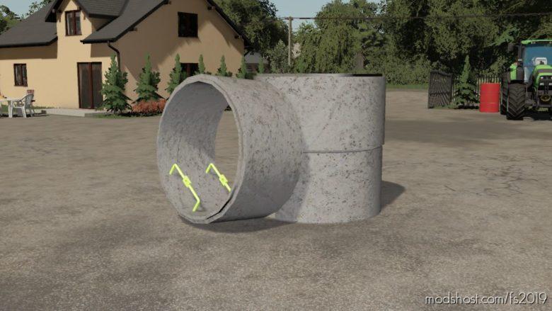 Concrete Pipe for Farming Simulator 19