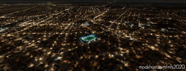 Major Antônio Couto Pereira Stadium, Coritiba FC – Brazil for Microsoft Flight Simulator 2020