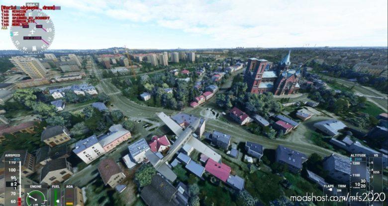 Czeladz OLD City for Microsoft Flight Simulator 2020