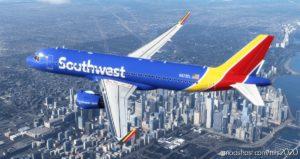 Southwest A320Neo – NEW Livery [8K] for Microsoft Flight Simulator 2020