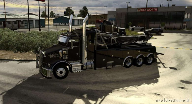 Kenworth T800 Custom Truck [1.39] for American Truck Simulator