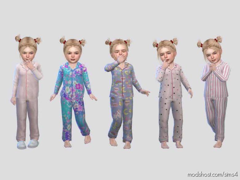 Fullbody Sleepwear Toddler (G) for The Sims 4