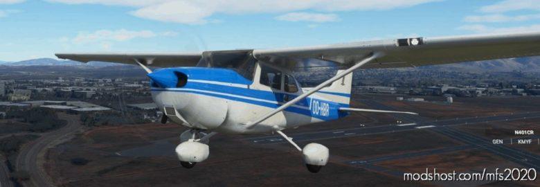 C172 G1000 Oo-Hbr for Microsoft Flight Simulator 2020