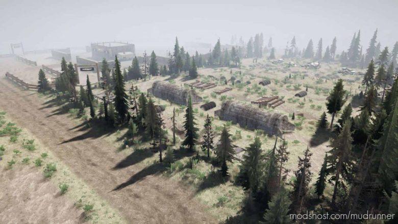 Smars Flex Park Map for MudRunner