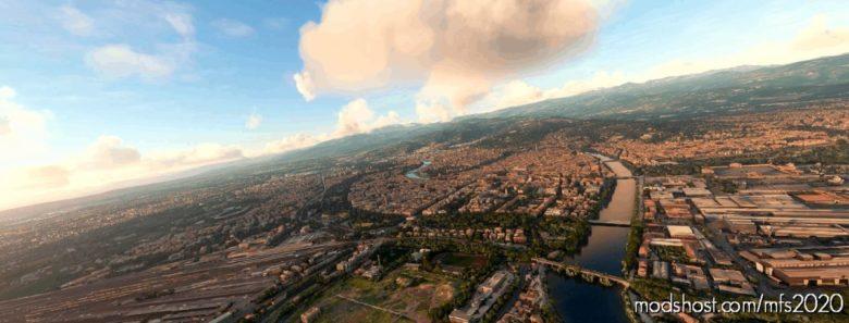 Verona, Italy for Microsoft Flight Simulator 2020
