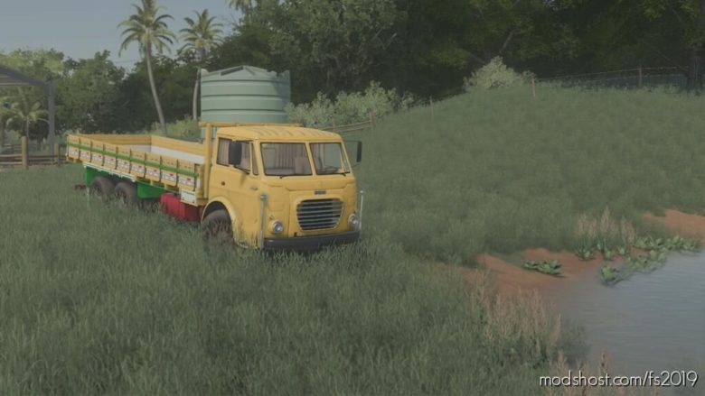 Fiat 180 Brazil for Farming Simulator 19