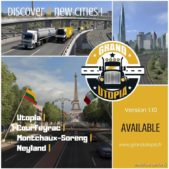 Grand Utopia V1.10 1.40.X for Euro Truck Simulator 2