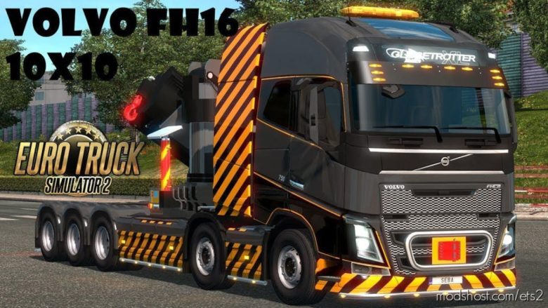 Rpie Volvo FH16 2012 V1.40 for Euro Truck Simulator 2