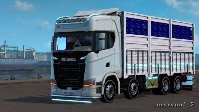 Scania S500 Kirkayak (Slotlu) [1.39.X] for Euro Truck Simulator 2