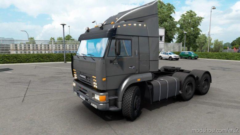 Kamaz 6460 2008 [1.39] for Euro Truck Simulator 2