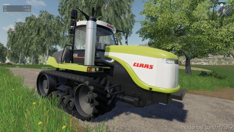 Class CAT Challenger X5 E Series for Farming Simulator 19