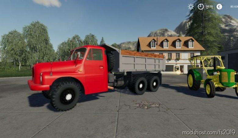 Tatra 138 S3 Cervena for Farming Simulator 19