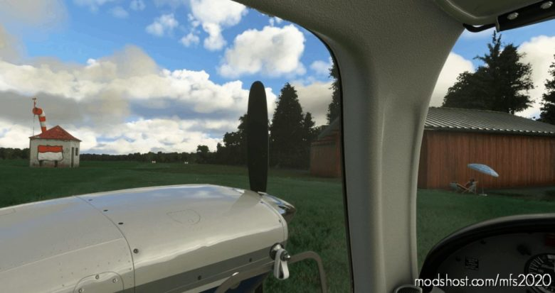 Piper PA-44 Seminole Better Cameras V2.0 for Microsoft Flight Simulator 2020