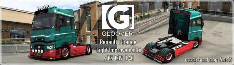 Renault T Light Improvements V1.5 for Euro Truck Simulator 2