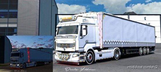 Renault Premium & Trailer [1.39.X] for Euro Truck Simulator 2