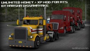 Unlimited Money + XP Mod for American Truck Simulator