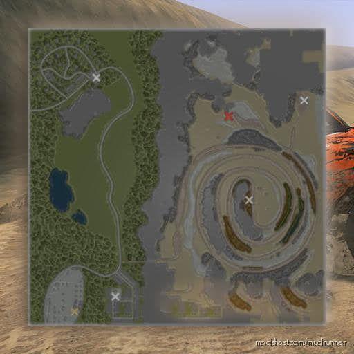 Alpha Map for MudRunner