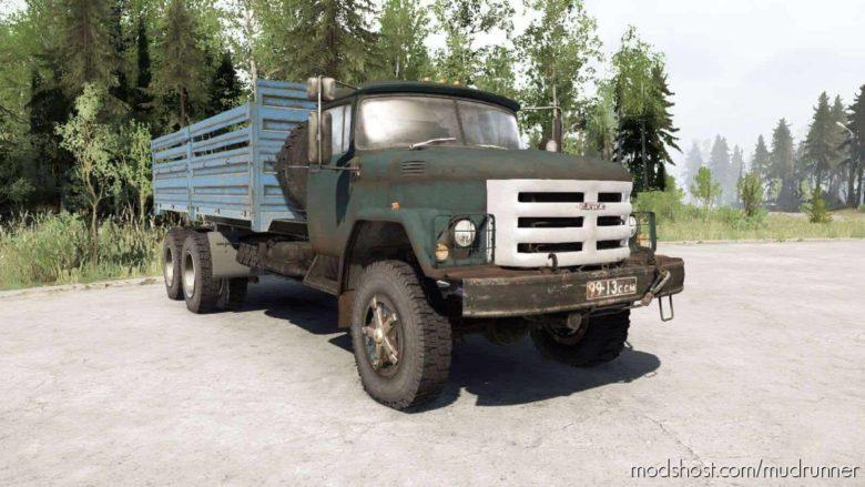 SIL 133GYA 6×6 Truck for MudRunner
