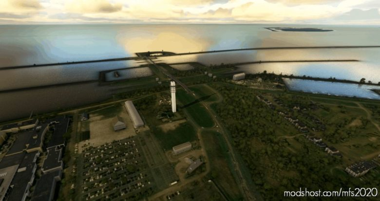Tv-Tower Lelystad V2.0 for Microsoft Flight Simulator 2020