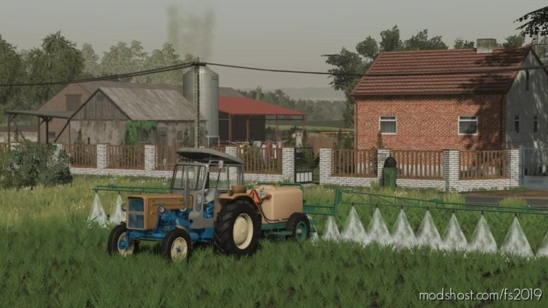 Lizard Sleza 1000 for Farming Simulator 19
