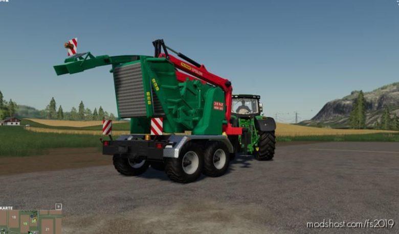 Jenz HEM583 With Turnable Crusher V1.0.2.1 for Farming Simulator 19