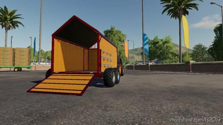 Animal Trailer for Farming Simulator 19