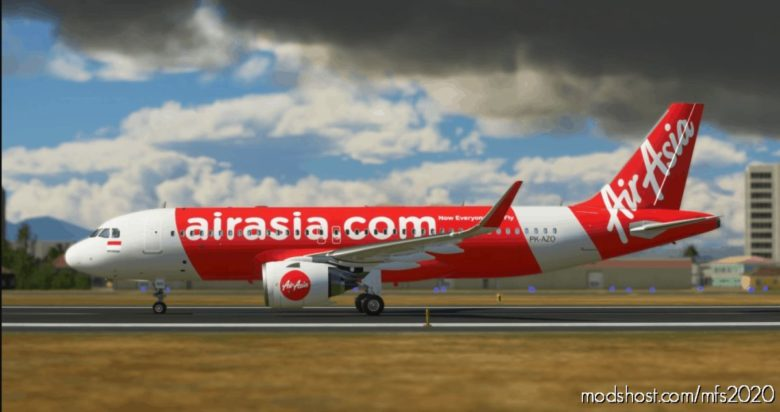 Airasia Indonesia 8K (Pk-Azo) for Microsoft Flight Simulator 2020