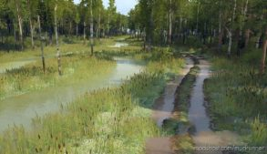 Swamp Master Map for MudRunner
