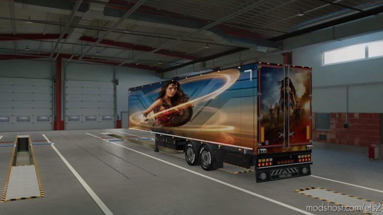 Wonder Woman for Euro Truck Simulator 2