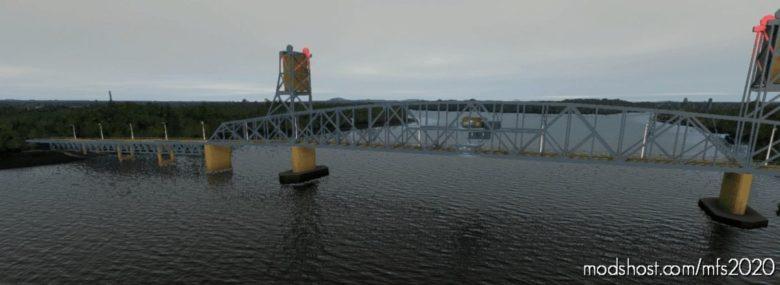 Burlington Bristol Bridge 12 NE Of Philadelphia for Microsoft Flight Simulator 2020