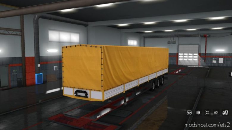 Trailer Nefaz 93341 [1.32 – 1.39] for Euro Truck Simulator 2