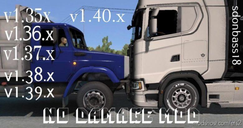 NO Damage V5.0 for Euro Truck Simulator 2