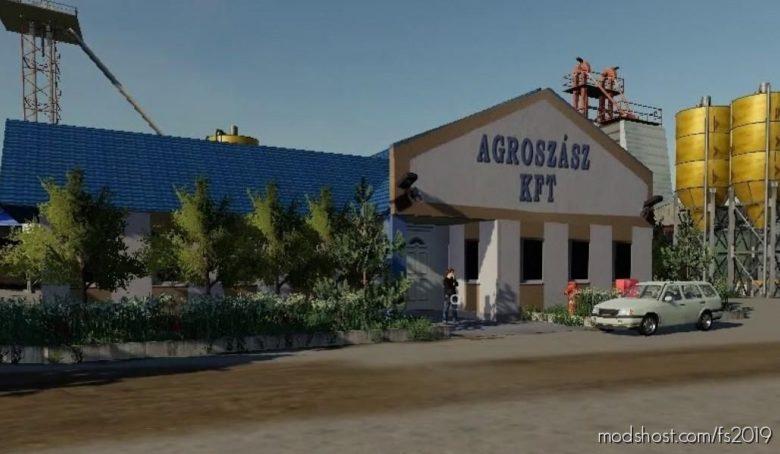 Agroszasz Map V2.0 for Farming Simulator 19