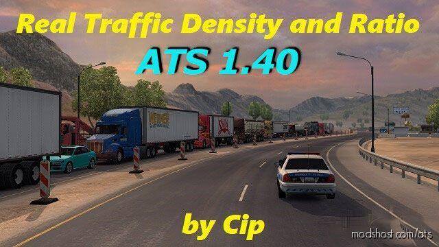 Real Traffic Density [1.40] Beta for American Truck Simulator