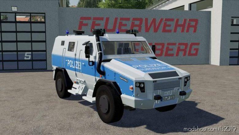 MAN Survivor R German Police V1.2 for Farming Simulator 19