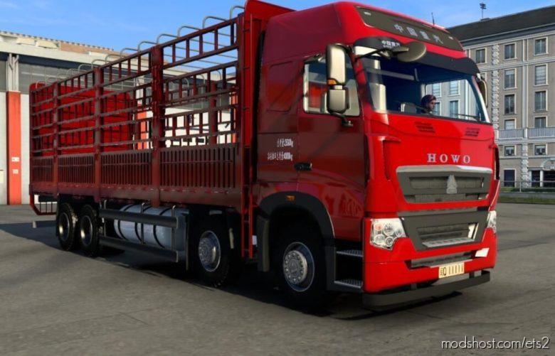 China Howo T7H [1.39.X] for Euro Truck Simulator 2