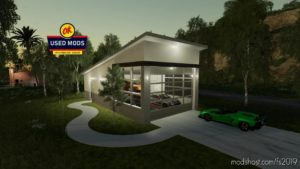 Modern Garage With Workshop Function for Farming Simulator 19