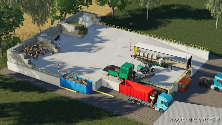Transfer Yard / Recycling Center for Farming Simulator 19