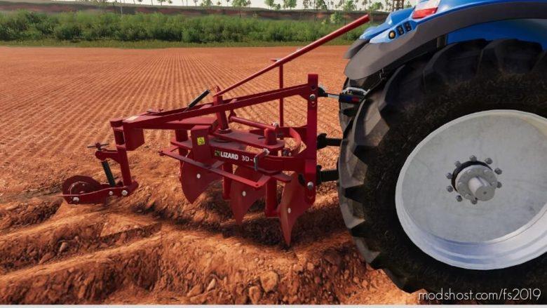 Disc Plow 3DR for Farming Simulator 19