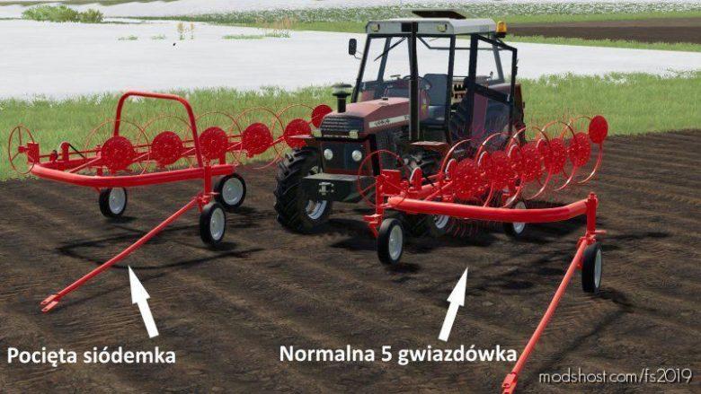 Zgrabiarka Agromet 5 for Farming Simulator 19