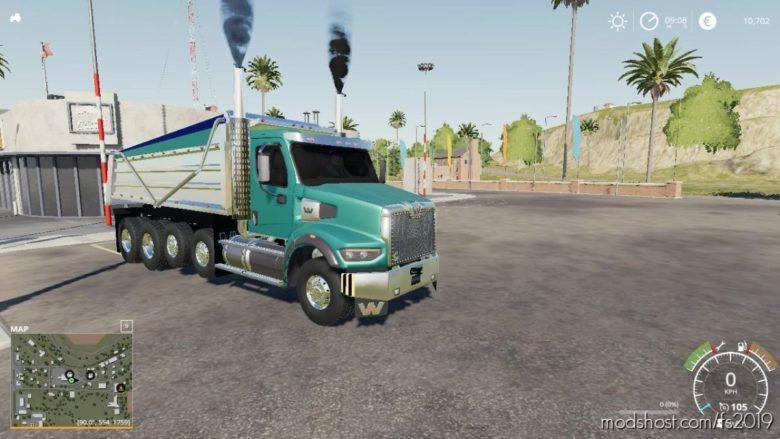 Western Star 49X Dump Truck V1.0.0.2 for Farming Simulator 19