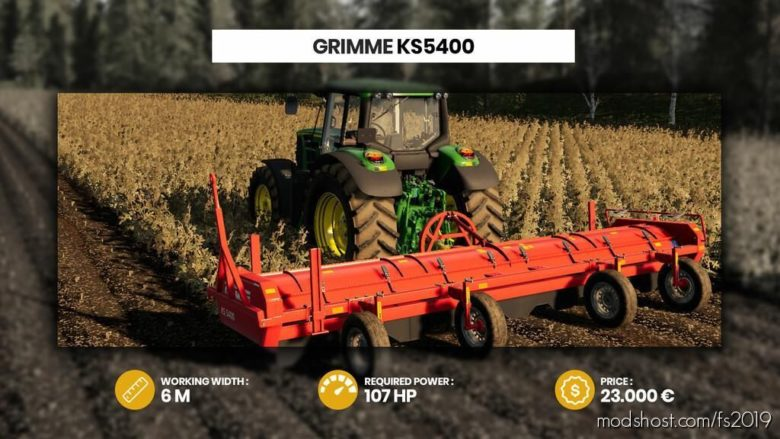 Grimme KS 5400 for Farming Simulator 19