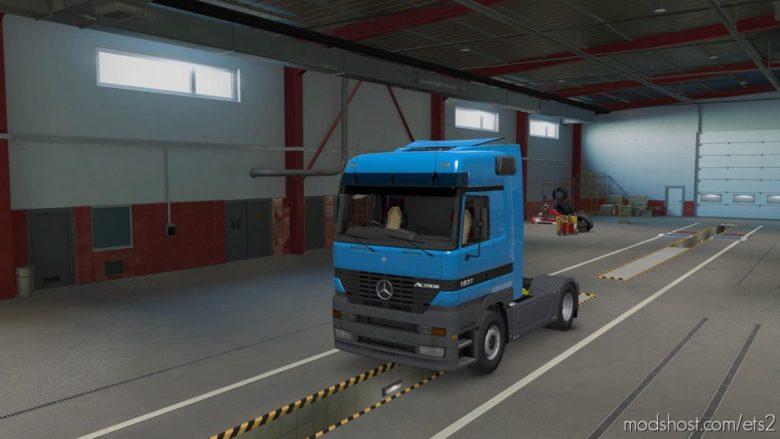 Mercedes Actros MP1 V1.4 [1.40] for Euro Truck Simulator 2