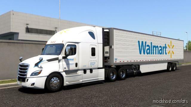 Walmart Transportation Skins for American Truck Simulator