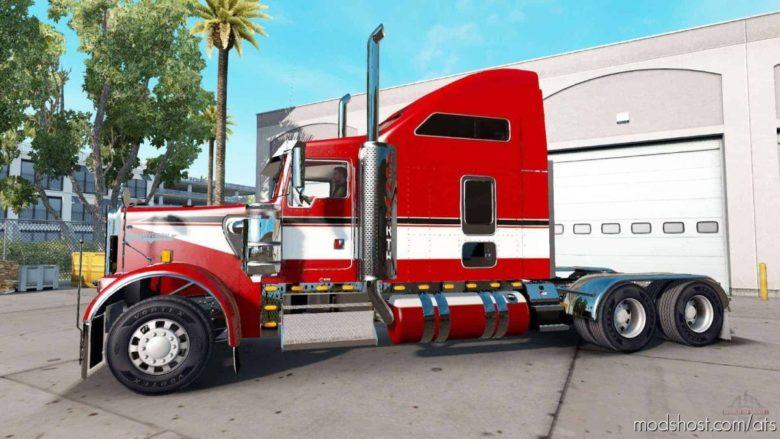 Kenworth W900EX Truck V1.1 for American Truck Simulator