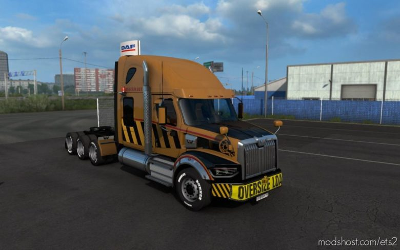 Western Star 49X V2 for Euro Truck Simulator 2