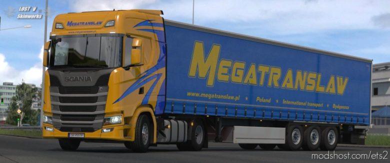 Megatranslaw Scania S Combo Pack for Euro Truck Simulator 2