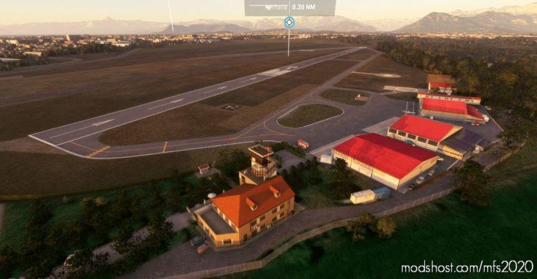 "Lima – Torino-Aeritalia Airport (""Edoardo Agnelli"") V0.1 for Microsoft Flight Simulator 2020"
