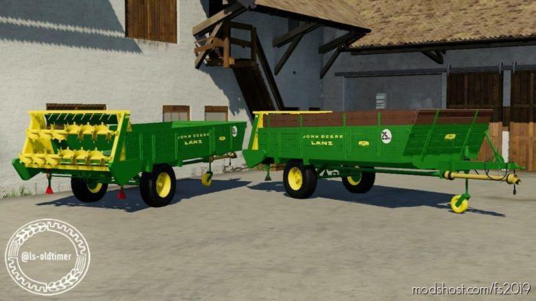 John Deere Lanz Miststreuer Ladus3 for Farming Simulator 19